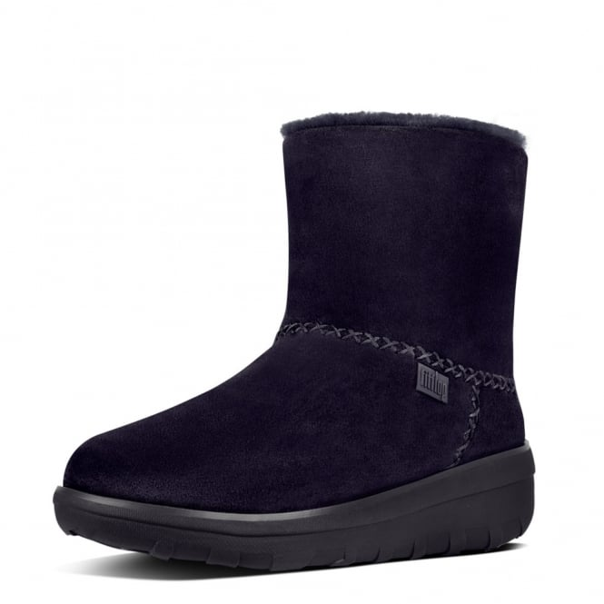 FitFlop Mukluk Shorty II™ Suede Boots in Supernavy