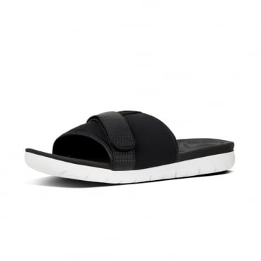 Neoflex™ Slide Sandals in Black Mix