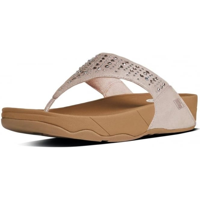 FitFlop Novy™ Women's Toe Post Sandal in Nude