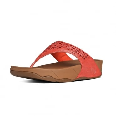 Novy™ Women's Toe Thong Sandals in Flame