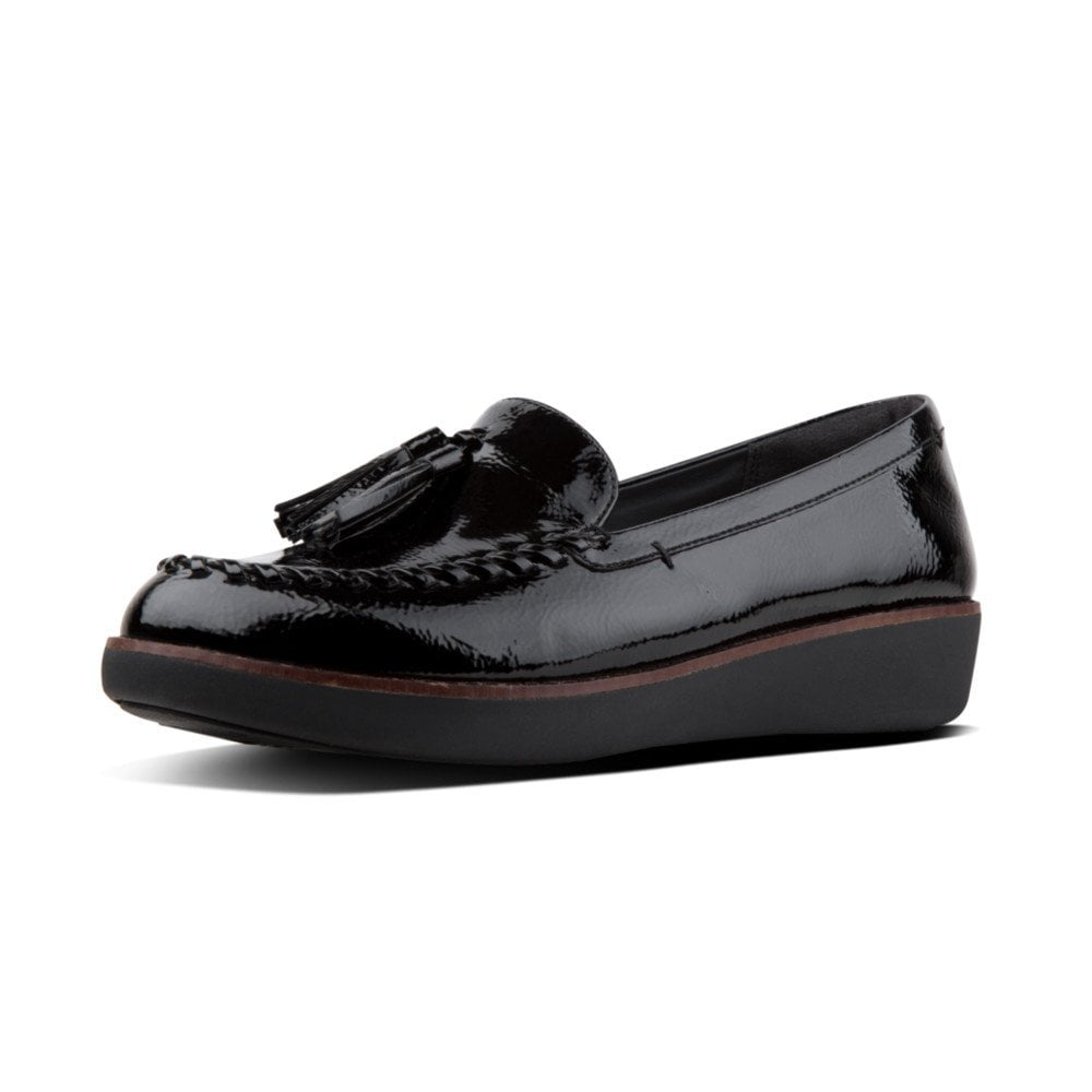 fc8750c66 Paige™ Patent Moccasin Loafers in Black
