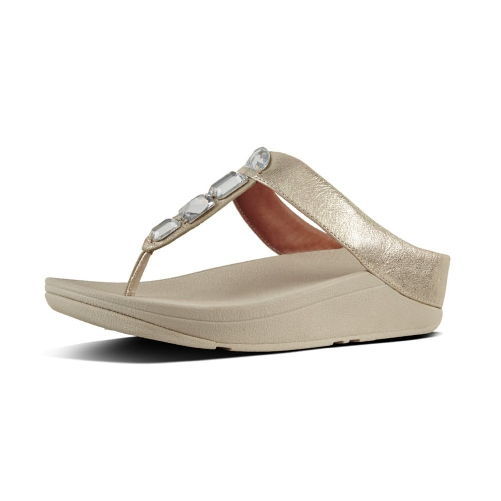 5e33496abcd3 Roka™ Toe-Thong Sandals in Silver