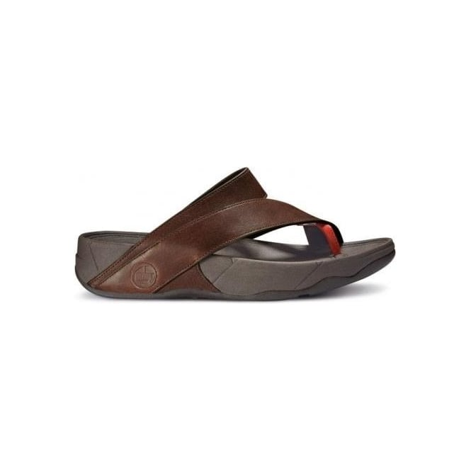 fitflop sling leather mens slippers