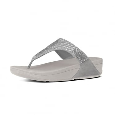 Slinky™ Rokkit Toe-Post Sandals in Silver