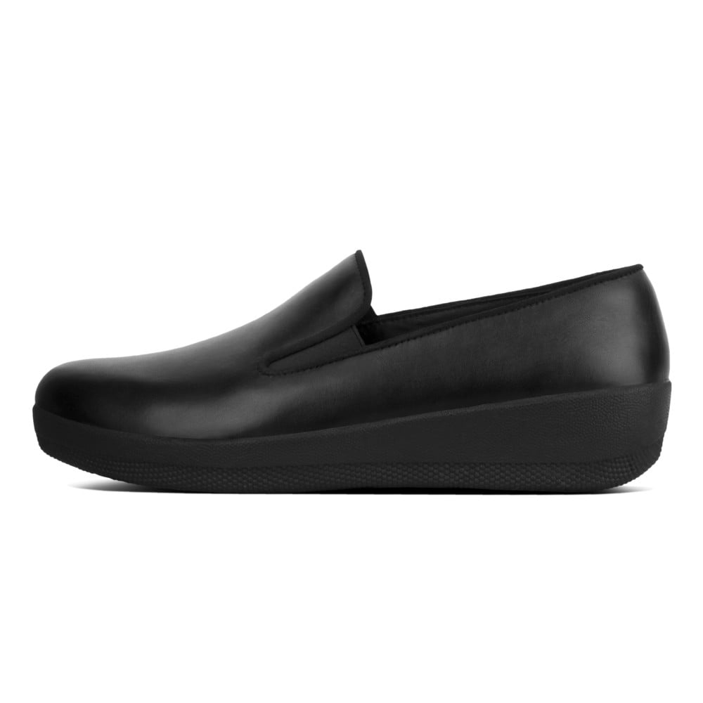 a43105836 Superskate™ Leather Loafers in Black