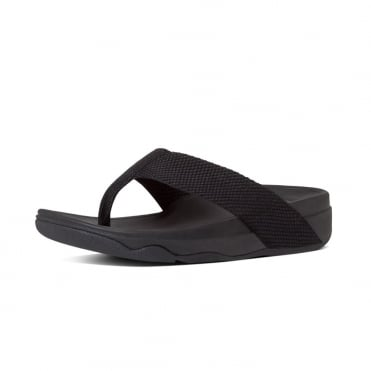 Surfa™ Flip Flops in Black