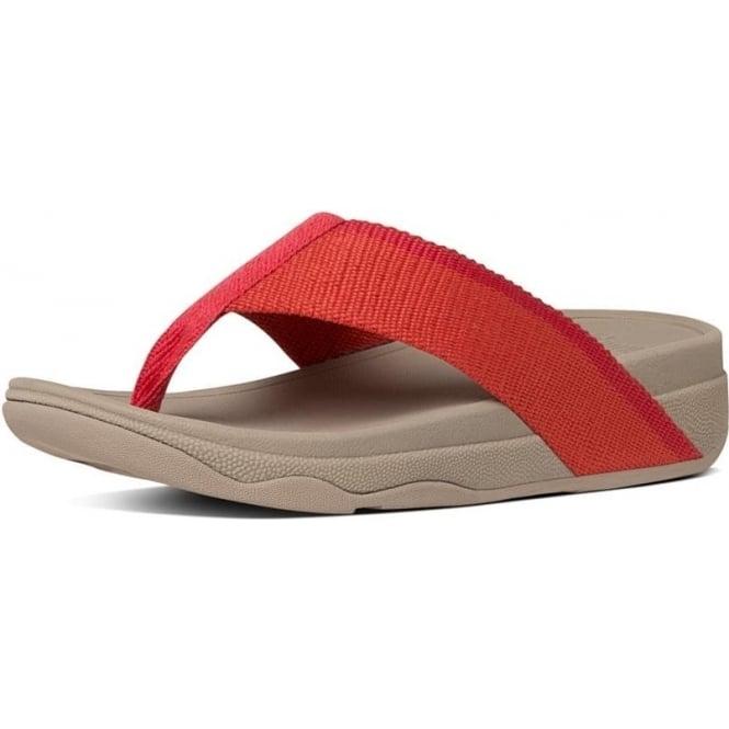 6db12559672a21 Surfa™ Stripe Flip Flops in Coral