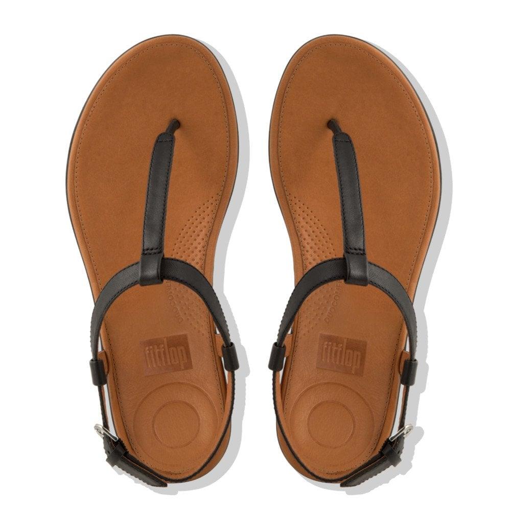 a34ed39e776 Tia™ Toe Thong Sandals - Leather in Black