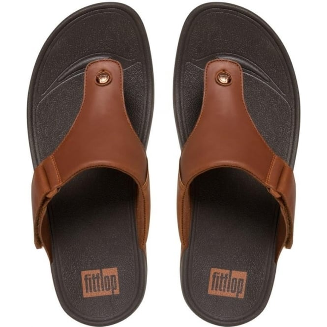 c6d667e75730 Trakk II™ Men  039 s Leather Flip Flops in ...