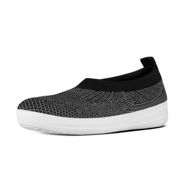 Uberknit™ Slip-On Ballerinas in Charcoal