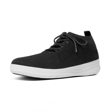 Uberknit™ Slip-On High Top Sneakers in Black