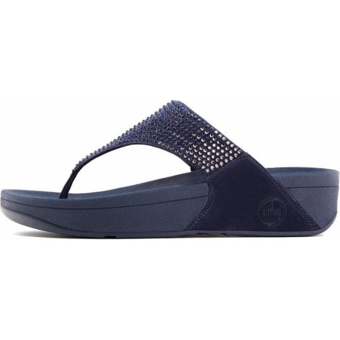 d316f997d029c FitFlops - Flare Thong Sandals in Supernavy from Mozimo