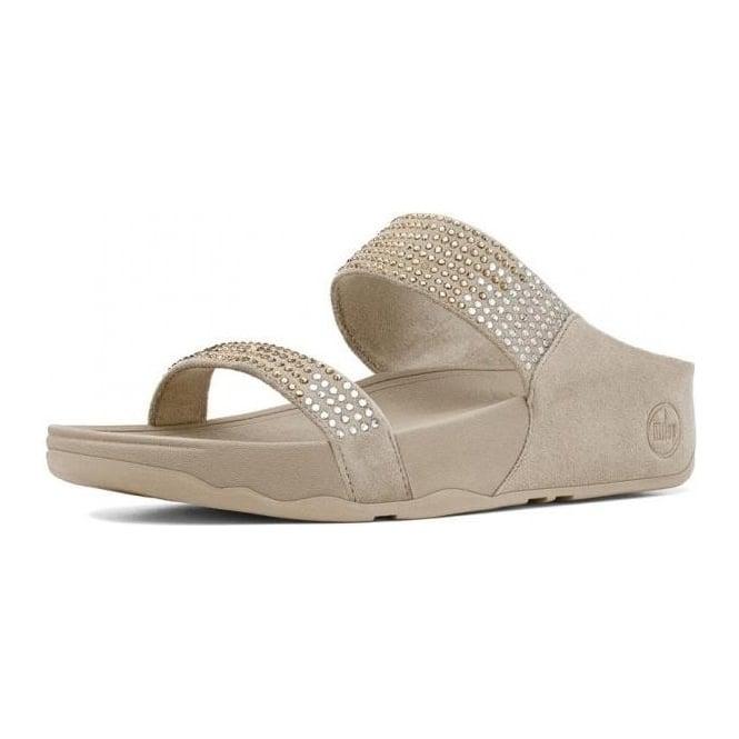 e8d224c09d11da Flare™ Slide Ladies Sandal in Pebble