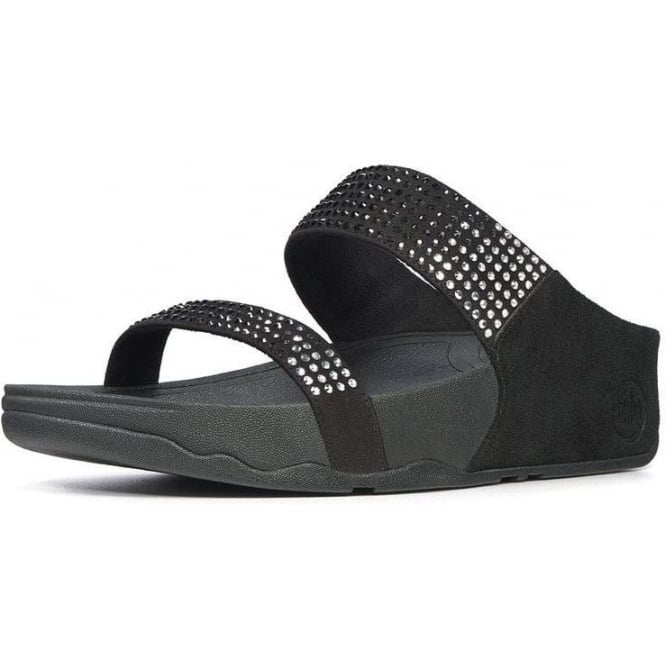 5b659eb95eae Fitflop Flare Backstrap Wide Fit Ladies Sandals in Black from Mozimo