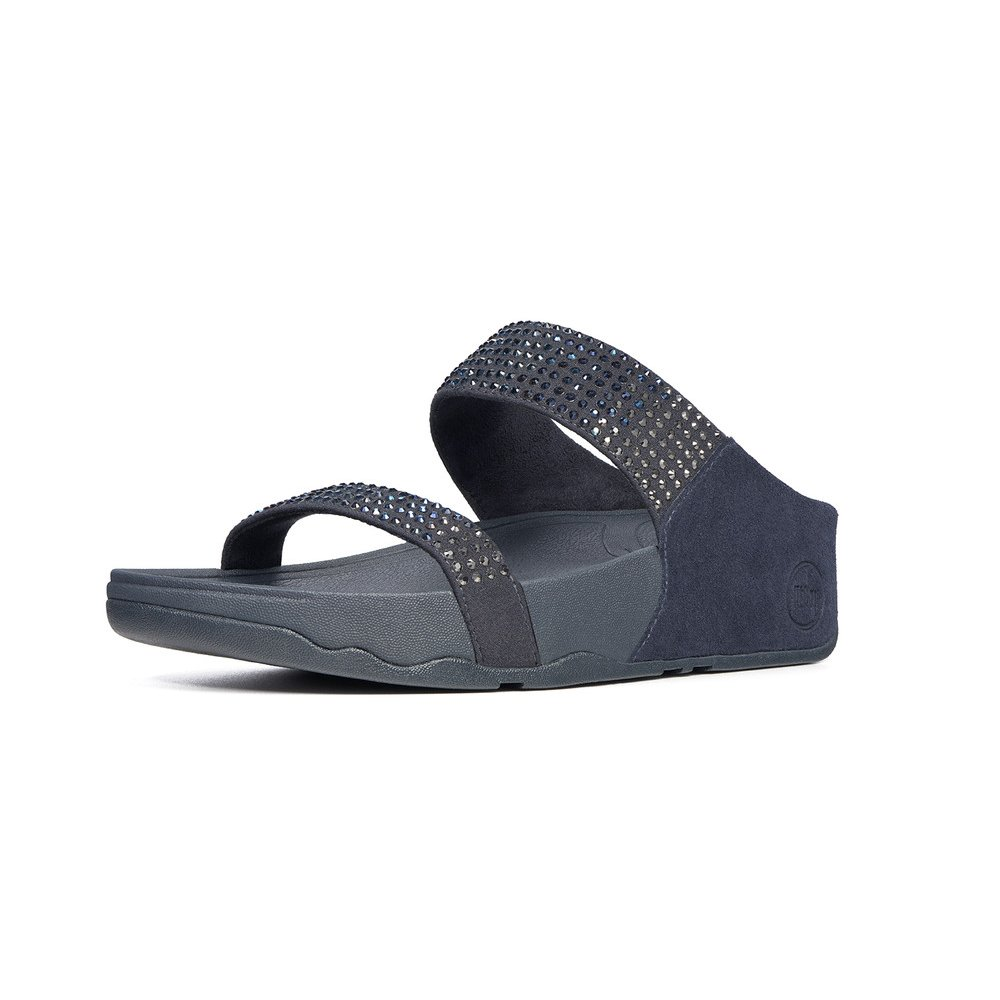 fitflop flare backstrap supernavy