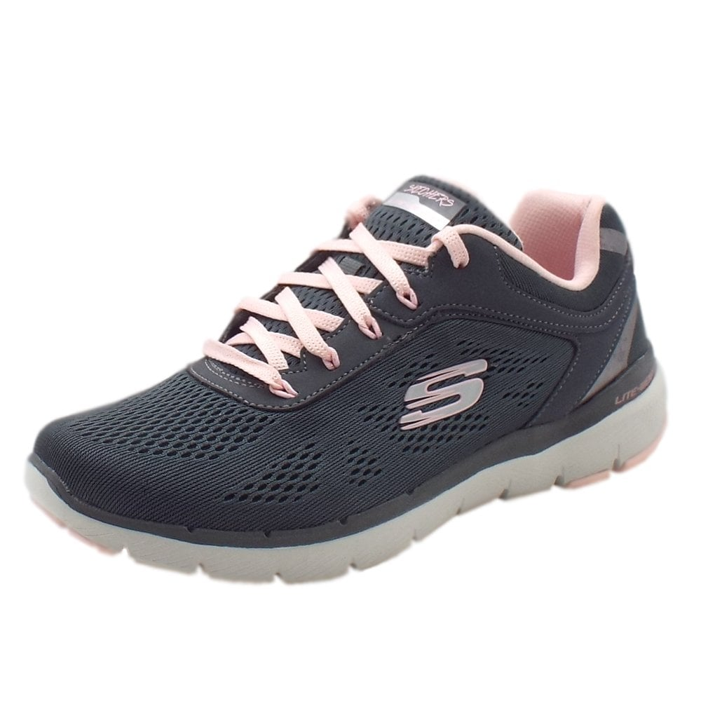 skechers memory foam trainers