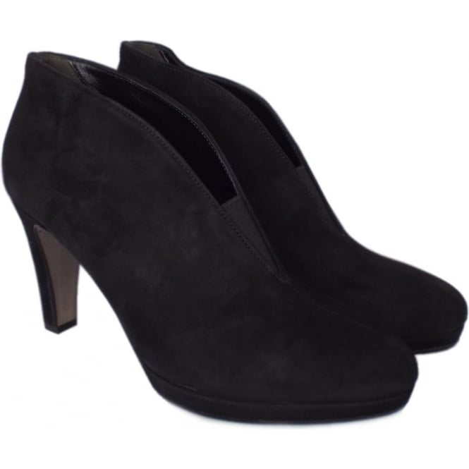 Gabor Boots | Amien Black Suede ankle