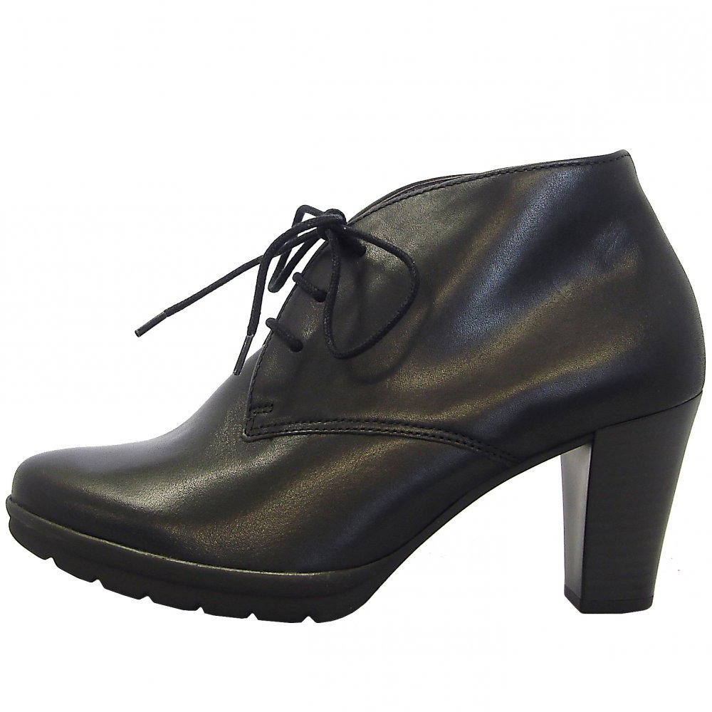 gabor boots aude ladies high heel ankle boot in black mozimo. Black Bedroom Furniture Sets. Home Design Ideas