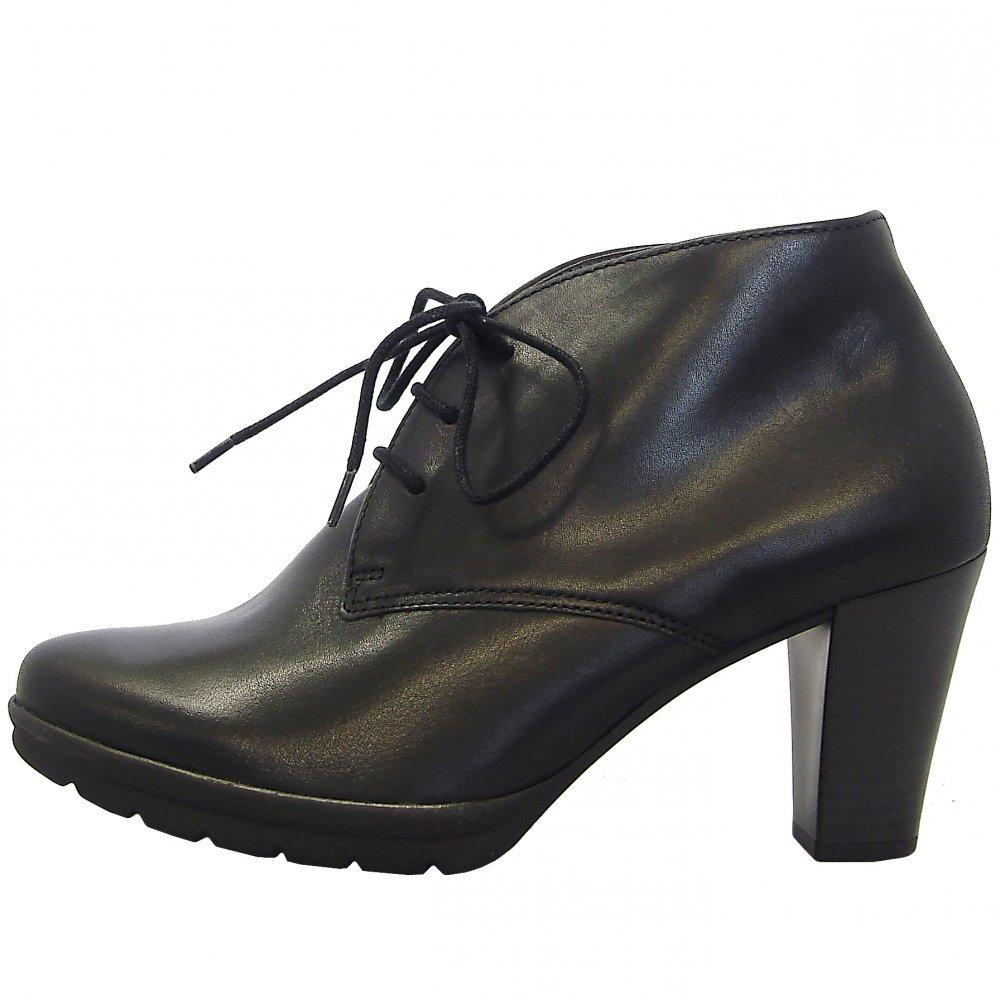 gabor boots aude ladies high heel ankle boot in black. Black Bedroom Furniture Sets. Home Design Ideas