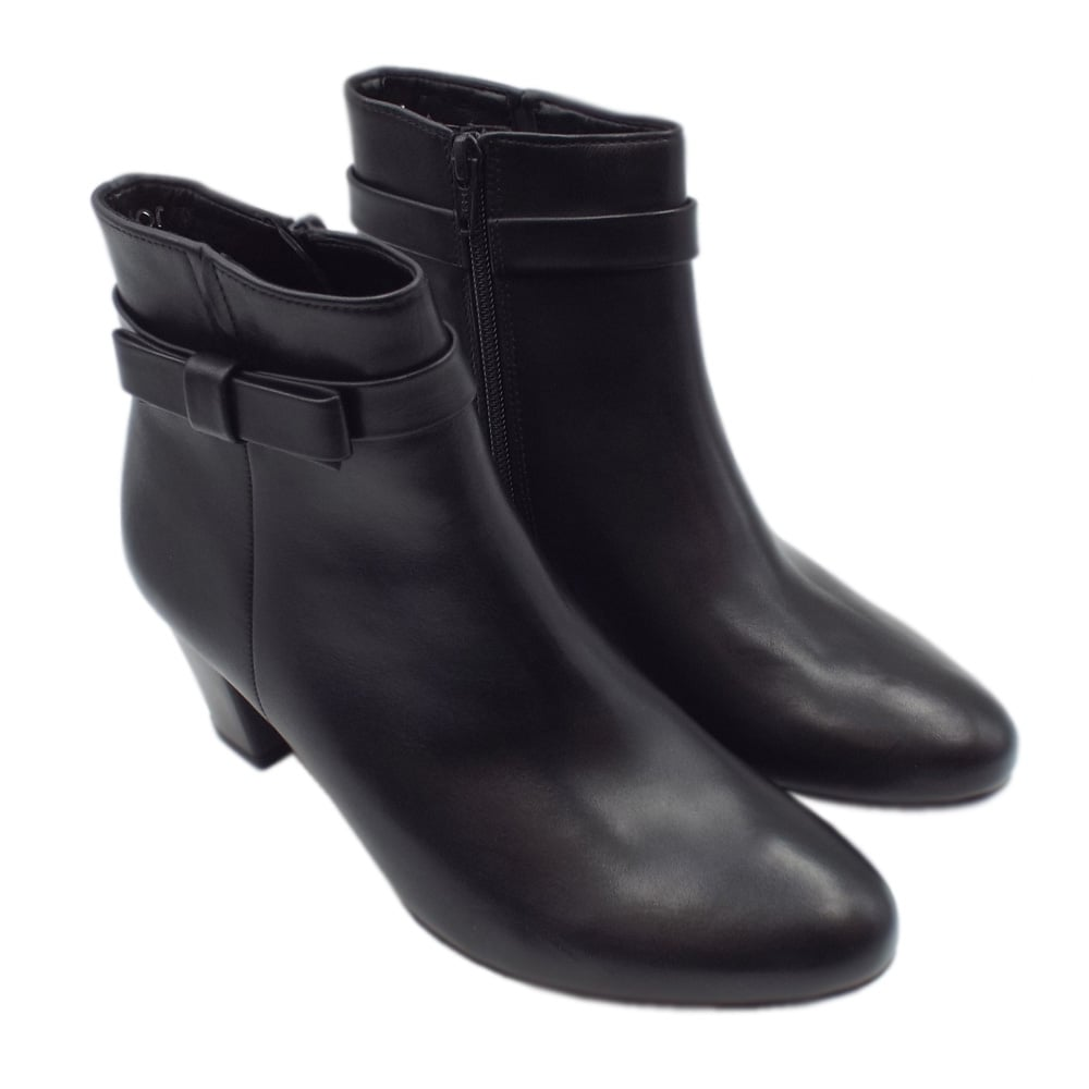 Gabor WIDE FIT - Classic ankle boots - dark grey PK0Q6zWg