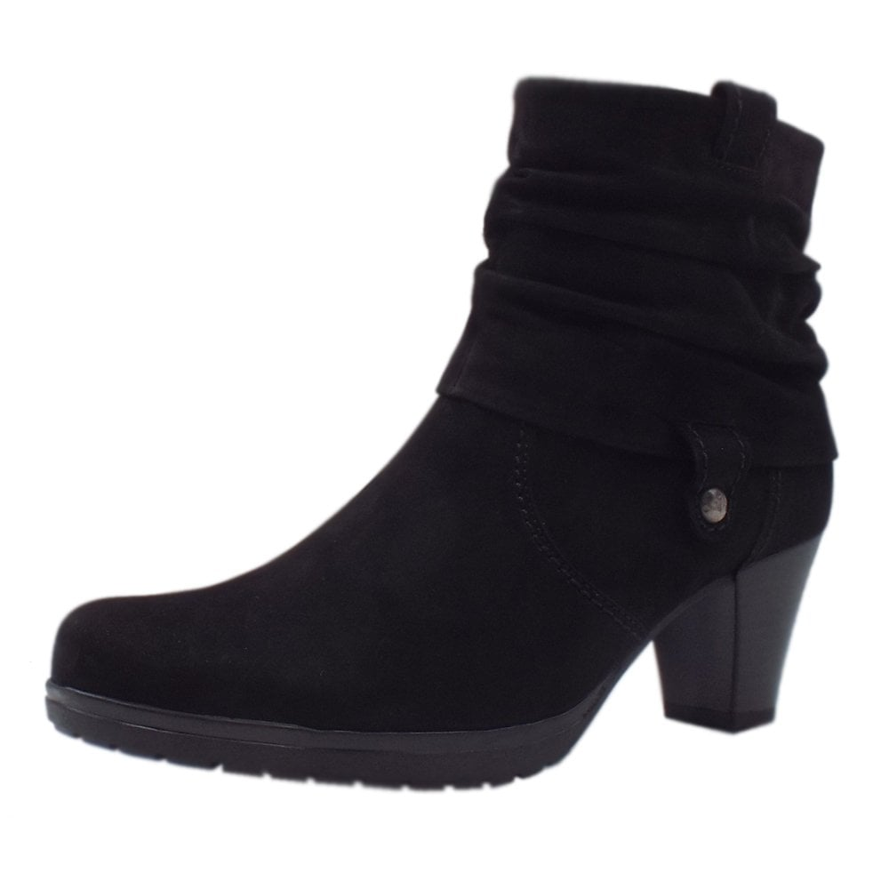 heeled ankle boots wide fit