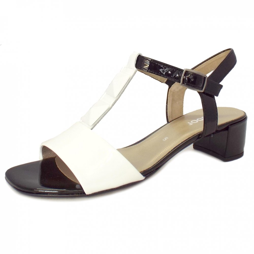 Patent Leather Strappy Sandal