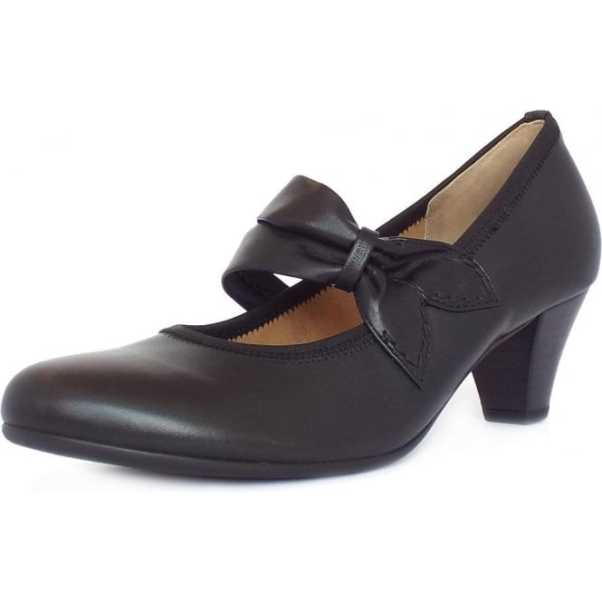 Gabor Coltrane Women's Casual Mary-Jane Court Shoes in Black