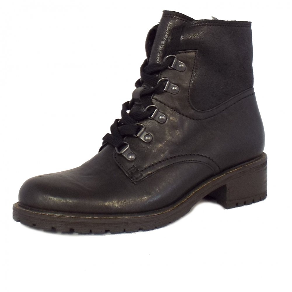 Women's Wide Fit Winter Ankle Boots in