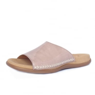 Eagle Womens Mule Sandal in Rose Patent