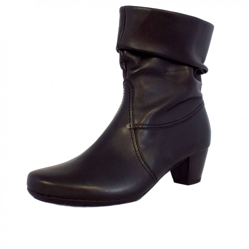 Gabor Boots | Eclectic Ladies Calf High Boots in Black ...