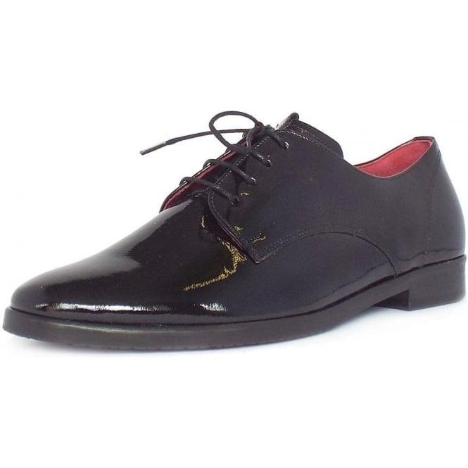 Gabor Gondola Patent Lace Up Shoes