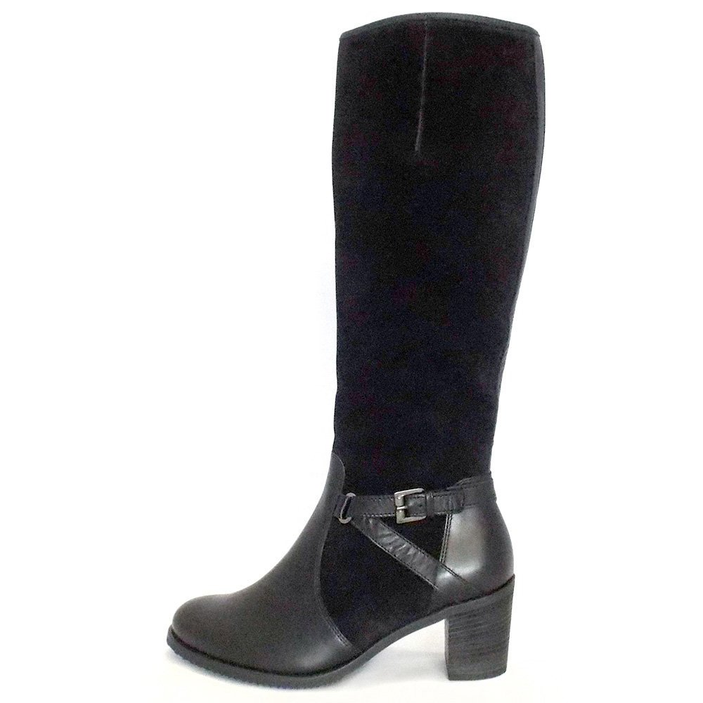 gabor boots gusto boot in black mozimo