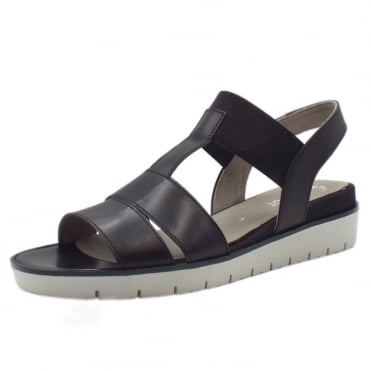 Kiana Modern Fashionable Sandals in Black
