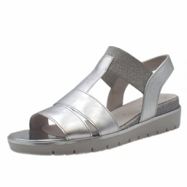 Kiana Modern Fashionable Sandals in Silver