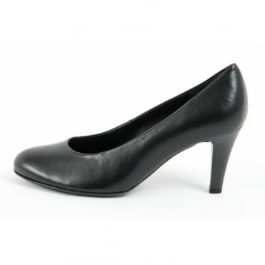 Lavender Womens Court Shoe In Black