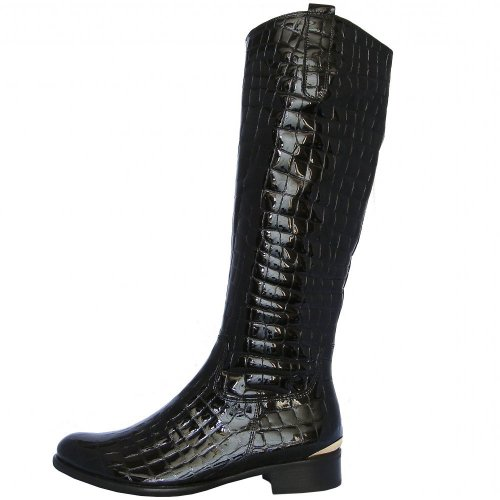 Gabor Boots Library Womens Knee High Boot In Black Mozimo
