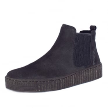 Lourdes Modern Sporty Short Winter Boots in Pepper