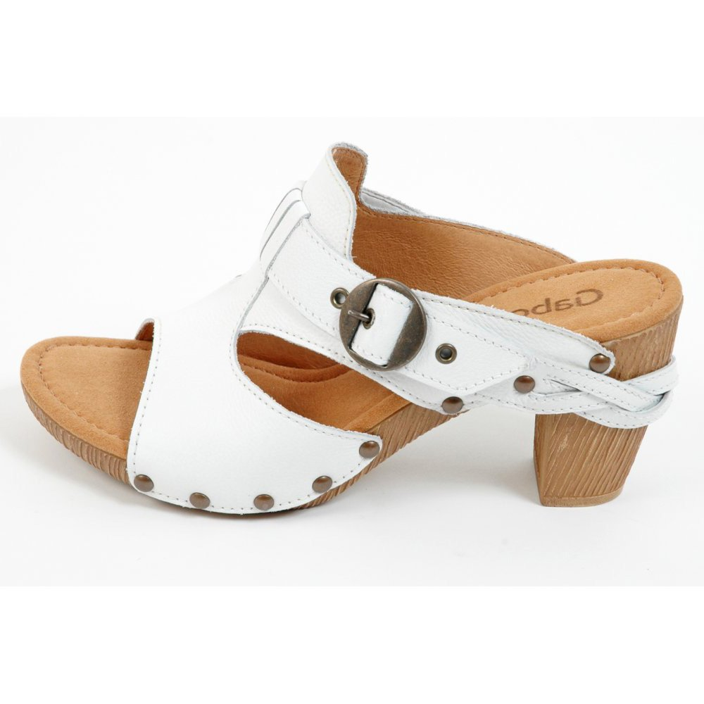 Womens Open Toe Clog Shoe