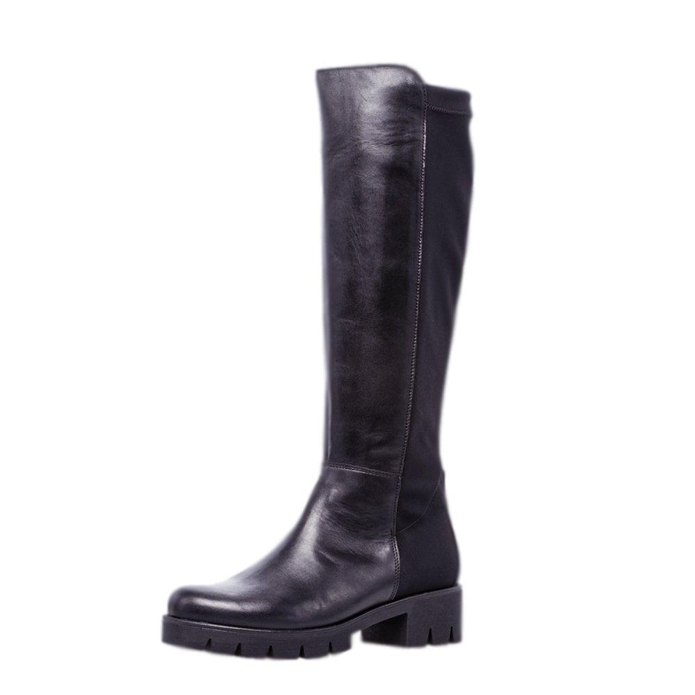 Gabor Boots   Massimo Knee High Black