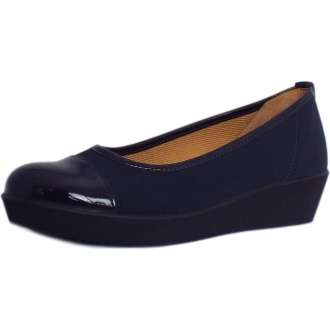 Gabor Shoes | Orient Wide Fit Wedge