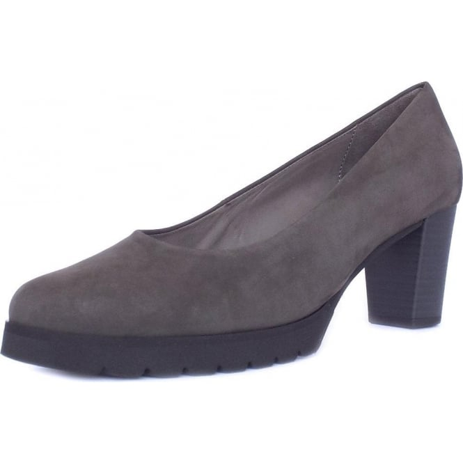 Gabor Patchouli Urban Sporty Court Shoes in Anthracite Nubuck