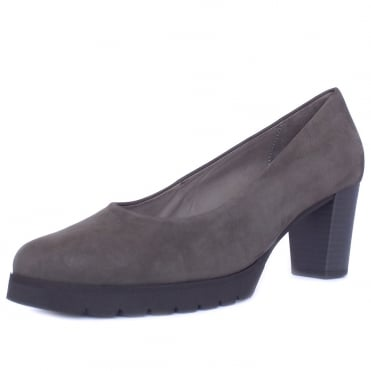 Patchouli Urban Sporty Court Shoes in Anthracite Nubuck