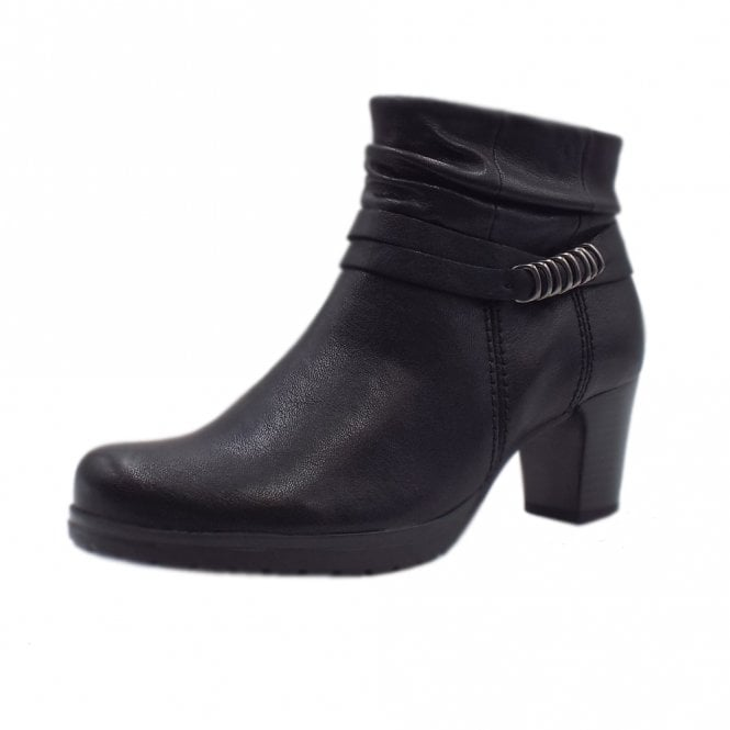 Gabor Pollyanna Comfortable Stylish Ankle Boots in Black