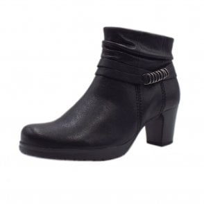 af640907bcbe Pollyanna Comfortable Stylish Ankle Boots in Black