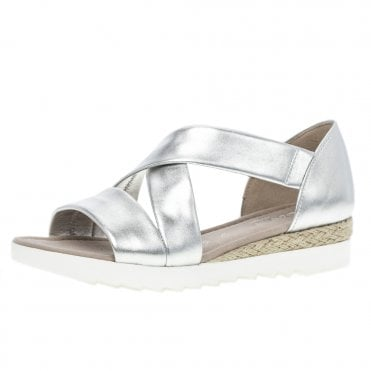 bf16056111b Promise Comfortable Fashion Sandals in Silver