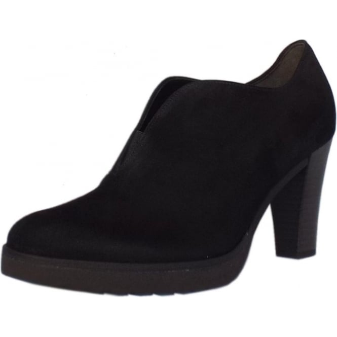 Gabor Boots | Roker Black Suede ankle