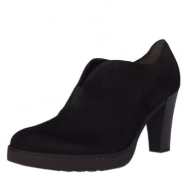 Roker Shoe Boots in Black Suede
