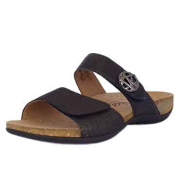 Shani Womens Mule Sandal in Black