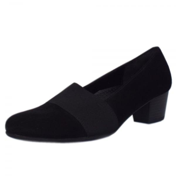 Sovereign Gabor shoe 4 NAVY SUEDE 7AdOYmsUEP