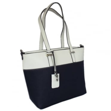 Tivoli Women's Modern Shoulder Bag in Navy